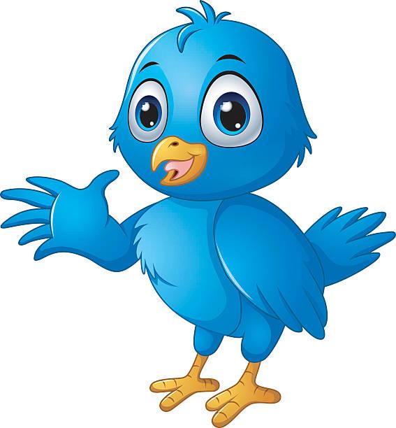 Royalty Free Twitter Bird Clip Art, Vector Images ...