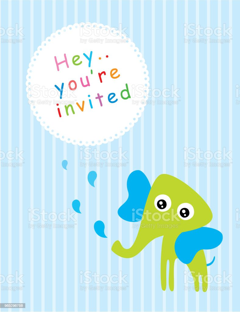 cute blue elephant baby shower greeting card vector royalty-free cute blue elephant baby shower greeting card vector stock vector art & more images of anniversary