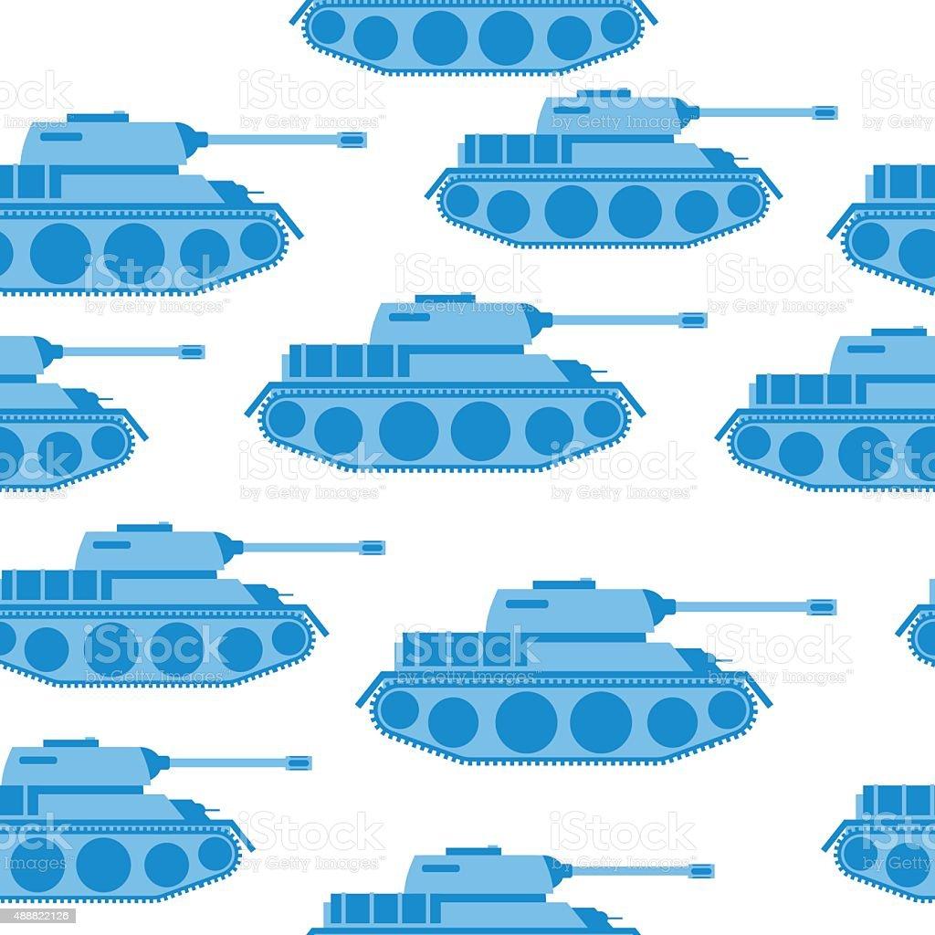 Graziosa Canotta Blu Seamless Pattern Vettoriale Sfondo Militare
