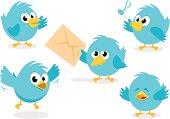 Cute Bluebird Set
