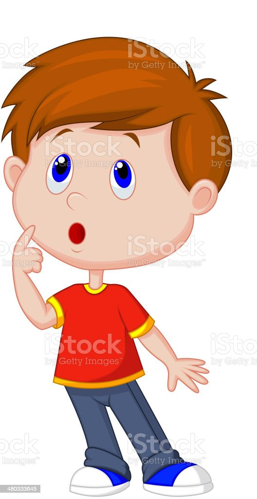 royalty free boy thinking clip art vector images illustrations rh istockphoto com clipart image of a child thinking clipart image of a child thinking