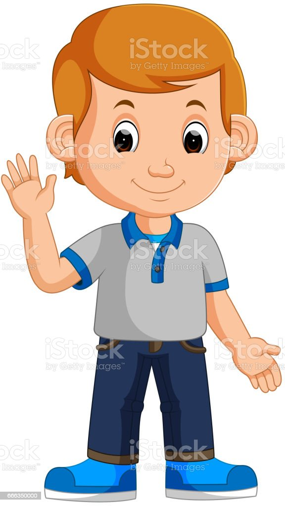 Cute Boy Cartoon Stock Illustration Download Image Now Istock