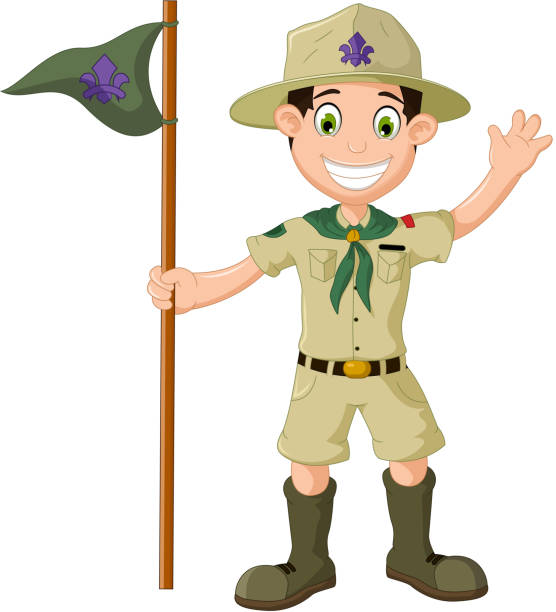Best Boy Scout Illustrations, Royalty-Free Vector Graphics ...