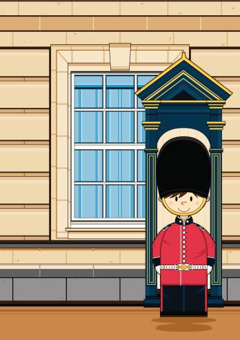 Cute British Royal Guard at the Palace
