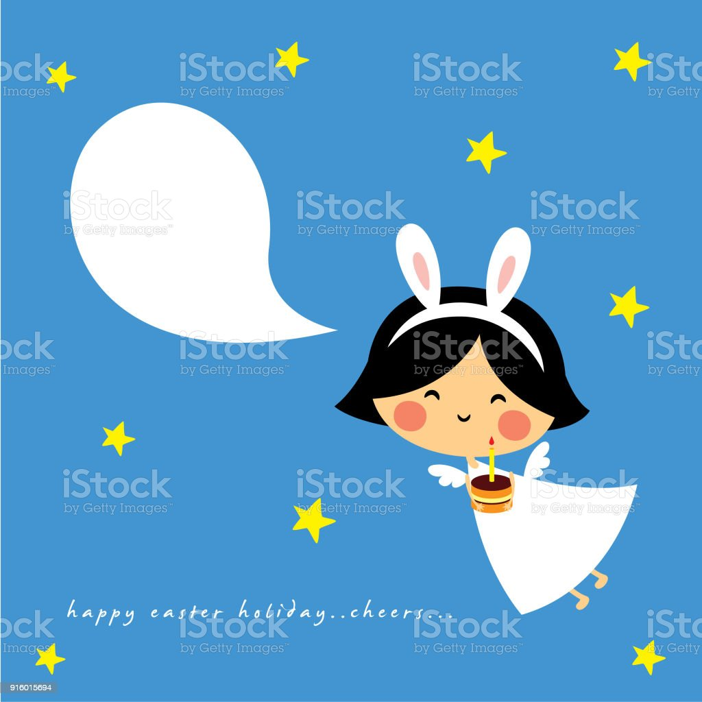 Cute bunny angel happy birthday greeting stock vector art more cute bunny angel happy birthday greeting royalty free cute bunny angel happy birthday greeting stock m4hsunfo