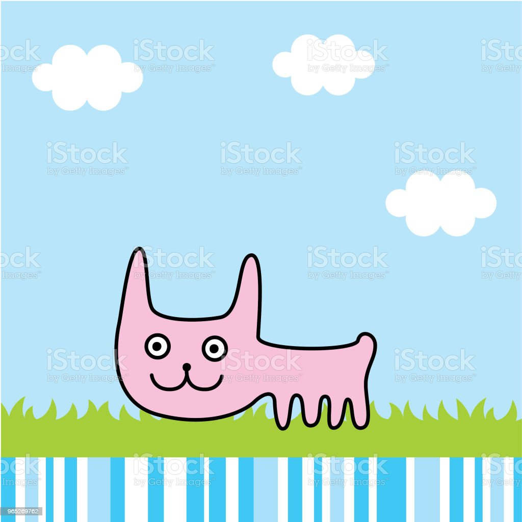 cute bunny rabbit spring picture vector royalty-free cute bunny rabbit spring picture vector stock vector art & more images of agricultural field