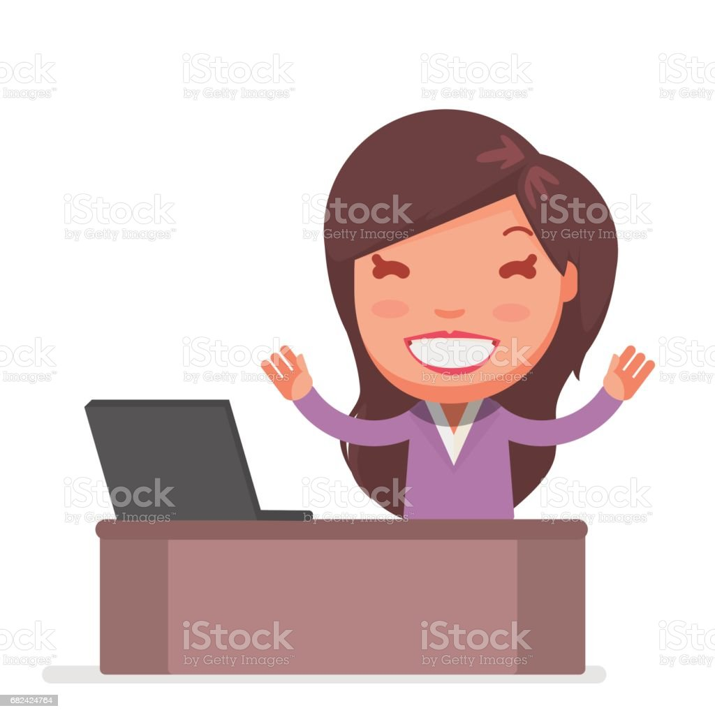 Cute Business woman royalty-free cute business woman stock vector art & more images of adult