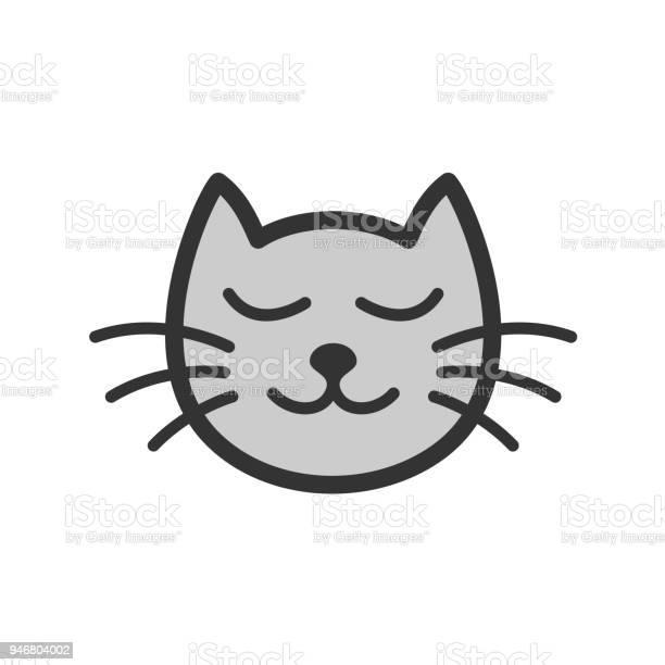 Cute calm sleeping cat cartoon illustration vector id946804002?b=1&k=6&m=946804002&s=612x612&h=ms4sd tv2o77p9zk6e7jpzasy gq6qur8sgkzg im6s=