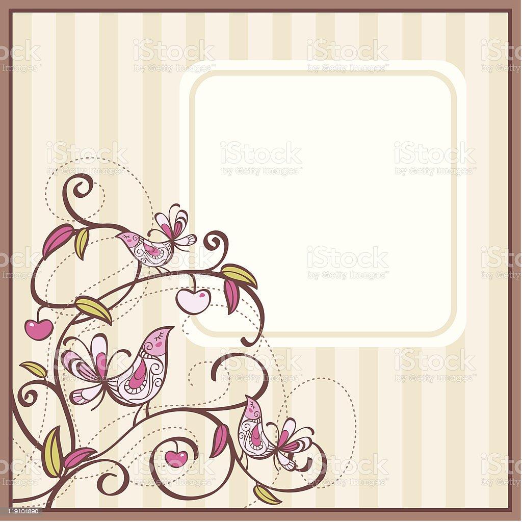 cute card royalty-free stock vector art