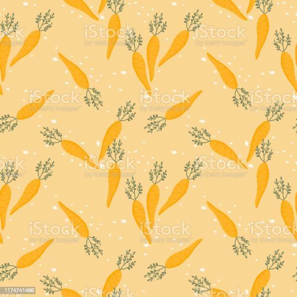 Cute carrot seamless pattern vector id1174741466?b=1&k=6&m=1174741466&s=612x612&h= thlx0gd36za7fyc nemqbqtq1mgf0ocufb56tnvz4i=