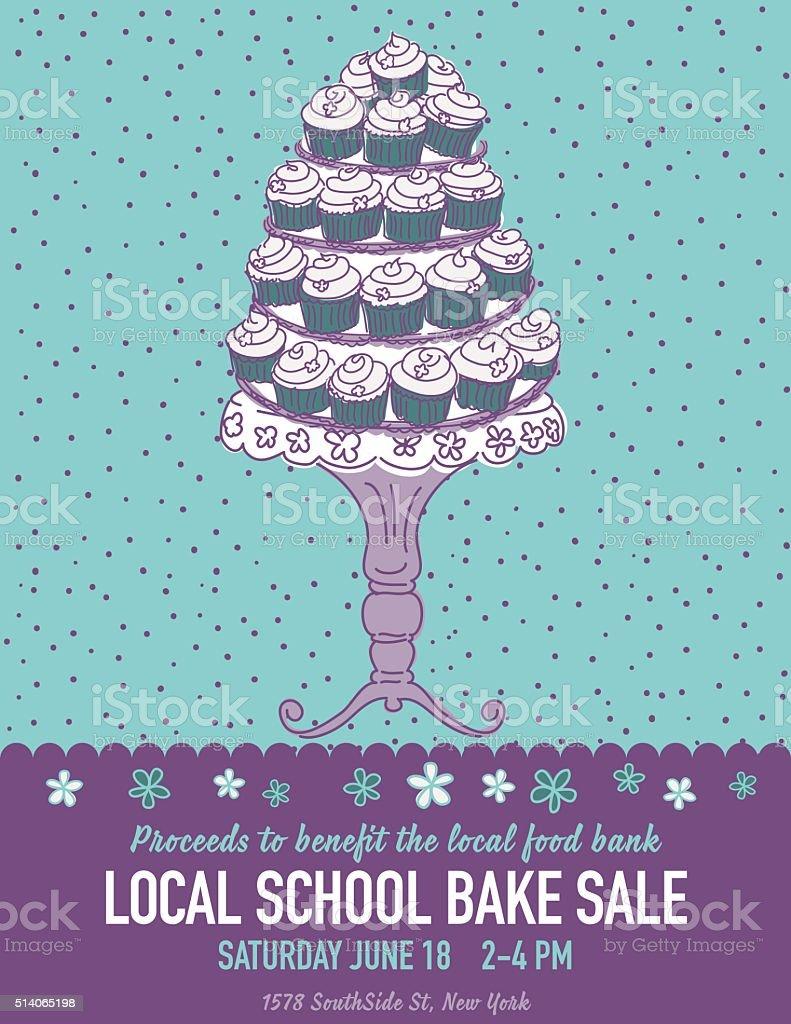 bake sale flyer template free