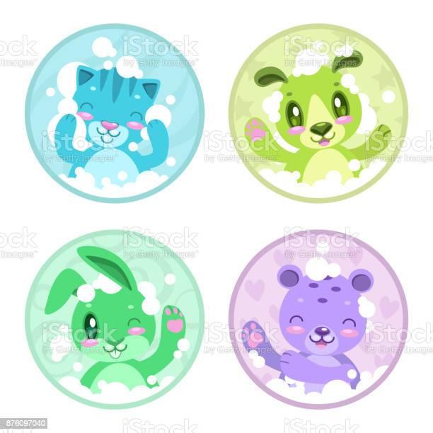 Cute cartoon bathing animals vector id876097040?b=1&k=6&m=876097040&s=612x612&h=rkhrphqwyvlhobpsbmerrd2l5wjzgs1xmsto2aqwloq=