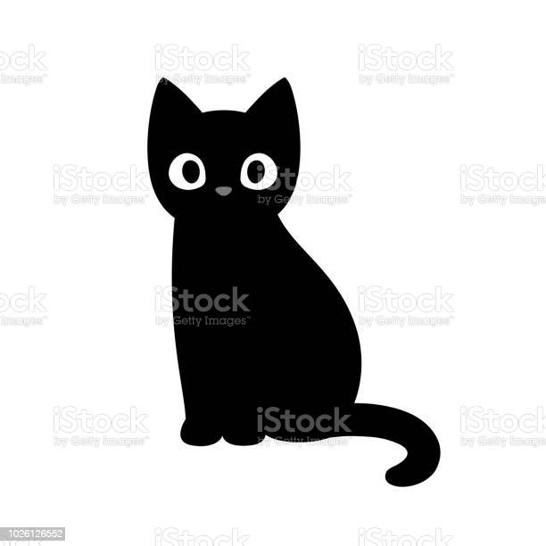Cute cartoon black cat vector id1026126552?b=1&k=6&m=1026126552&s=612x612&h=unhfpk7d5f35s5ehu5kfekcuzjr11f hfdti74x4gke=