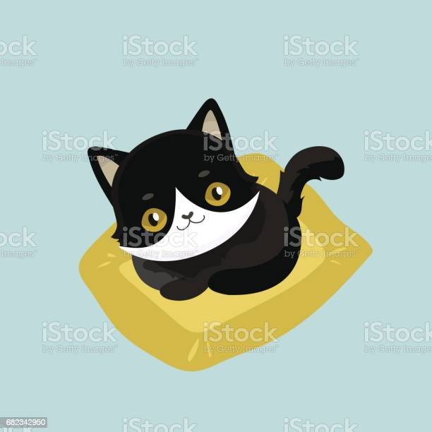 Cute cartoon black cat vector id682342950?b=1&k=6&m=682342950&s=612x612&h=ikyl62mnh9g56ncoawg571vqlnibfxvvtop742bgqna=