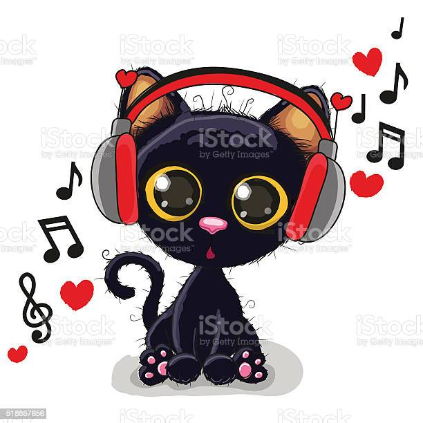 Cute cartoon black kitten vector id518867656?b=1&k=6&m=518867656&s=612x612&h=rieszn35scr zzq2sjazvdc kocy5lldexyn6oojt30=