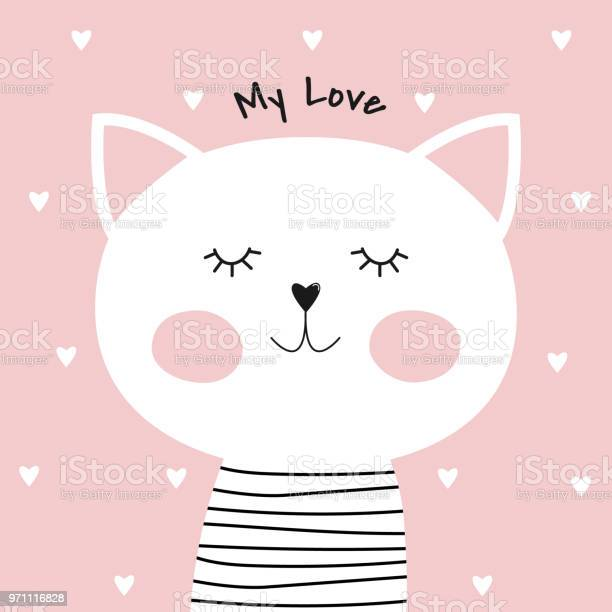Cute cartoon cat and inscription my love vector id971116828?b=1&k=6&m=971116828&s=612x612&h=ncaflsrbhncxhflw4ybwy9yqabskvpcs9sldh1vxoc8=