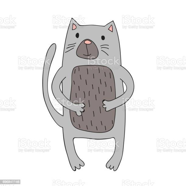 Cute cartoon cat character vector isolated illustration in simple vector id696841146?b=1&k=6&m=696841146&s=612x612&h=xog nanglh75xghnkzjgtczpee8tk8tdoo4scagco74=