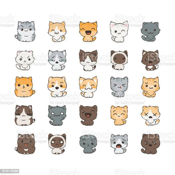 Cute cartoon cats and dogs with different emotions sticker collection vector id919176386?b=1&k=6&m=919176386&s=612x612&h=a5gtjajafv2cma5zfszwnugbiyqwvyng8zy1ihwin8y=