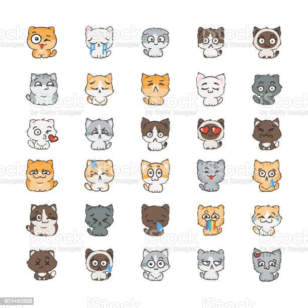 Cute cartoon cats and dogs with different emotions sticker collection vector id924483908?b=1&k=6&m=924483908&s=612x612&h=mkkkj1rqsa4zht  wnf40degpvdidqmhgqu8x4rxd98=