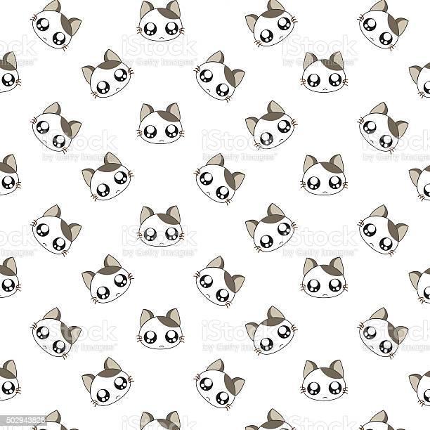 Cute cartoon cats pattern vector id502943828?b=1&k=6&m=502943828&s=612x612&h=pxgcf1bxbyh ronoonxhhfkqvbiu9fgnmhdwdmh1atg=