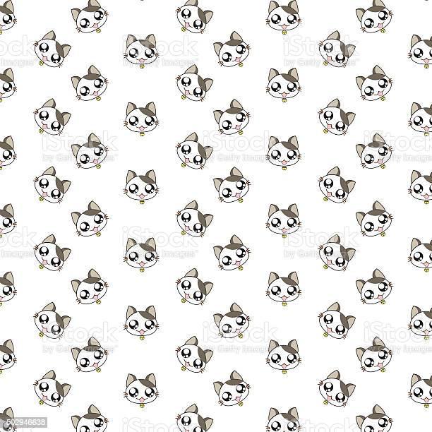 Cute cartoon cats pattern vector id502946638?b=1&k=6&m=502946638&s=612x612&h=xwheqyx6bnps7po9fzxtzi2xs4rabyyeedii71yethu=