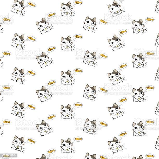 Cute cartoon cats pattern vector id502948654?b=1&k=6&m=502948654&s=612x612&h=wrvyk2vcaf7m9bi7iz2ox6aw16okudd2xboacbj6t3e=