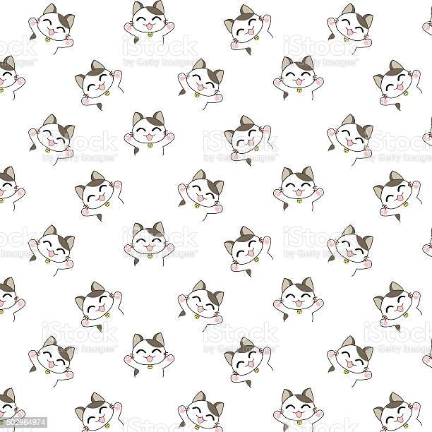 Cute cartoon cats pattern vector id502964974?b=1&k=6&m=502964974&s=612x612&h=xawm8hxovuvupfvu6obmmhtbehp o0aen3ynxj8lbxk=