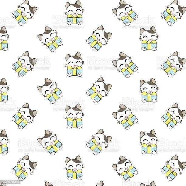 Cute cartoon cats pattern vector id502975046?b=1&k=6&m=502975046&s=612x612&h=axkzhzq6zgpygsqidr7b0b84 x5h zid1w89wz3wb7g=