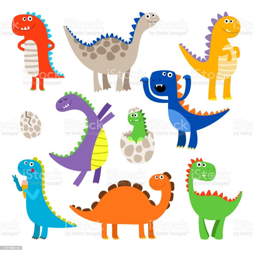 Ilustracion De Dinosaurios De Dibujos Animados Y Mas Vectores Libres De Derechos De Animal Istock Search, discover and share your favorite dinosaurios gifs. ilustracion de dinosaurios de dibujos animados y mas vectores libres de derechos de animal istock