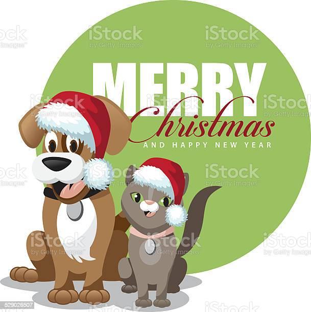 Cute cartoon dog and cat merry christmas vector id529026507?b=1&k=6&m=529026507&s=612x612&h=tpdaml9n0wcys6vybkkmi4i0gmvw hpyqveohsbpvra=