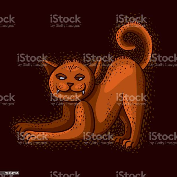 Cute cartoon doodle red cat vector illustration nice pet standing vector id975984264?b=1&k=6&m=975984264&s=612x612&h=rh3hpovj0xnv8o4eoln4blyfxx4ry8uytj2c1vbsivi=