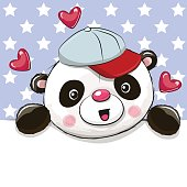 Cute Cartoon Drawing Panda