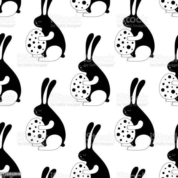 Cute cartoon easter bunny vector seamless pattern vector id1140433849?b=1&k=6&m=1140433849&s=612x612&h=uf xw8xdqe6jze6dvkukb1rwhc2l5 df 5tlk6axh50=