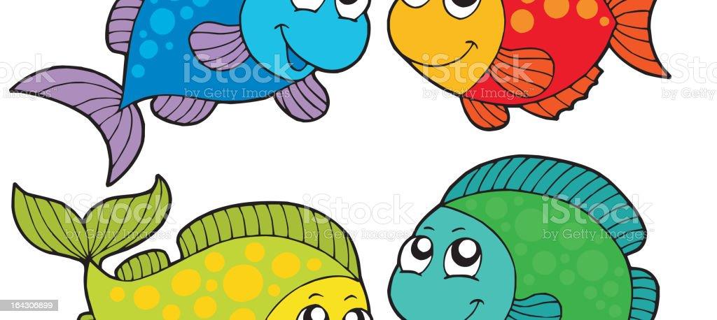 Fische Cartoon