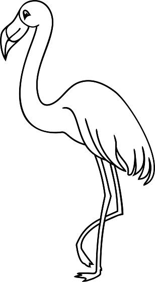 36 flamingo zum ausmalen  besten bilder von ausmalbilder