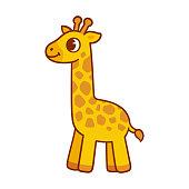 Seamless pattern simulating the skin of a giraffe. Vector illustration.