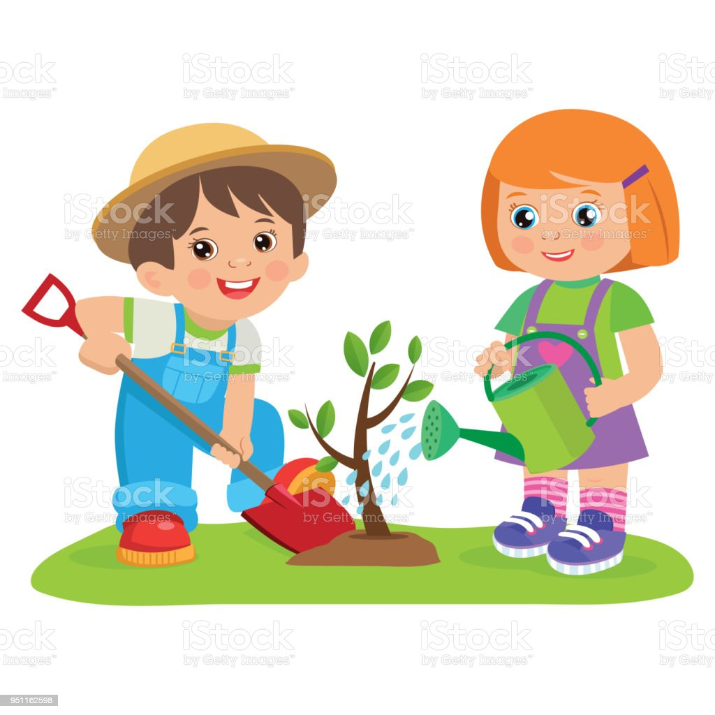 Garden Cute Cartoon