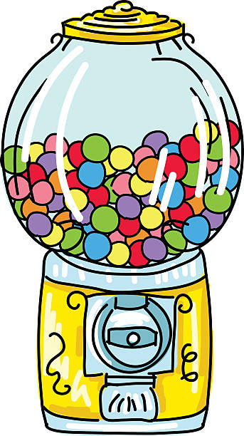 Best Gumball Machine Illustrations, Royalty-Free Vector ...