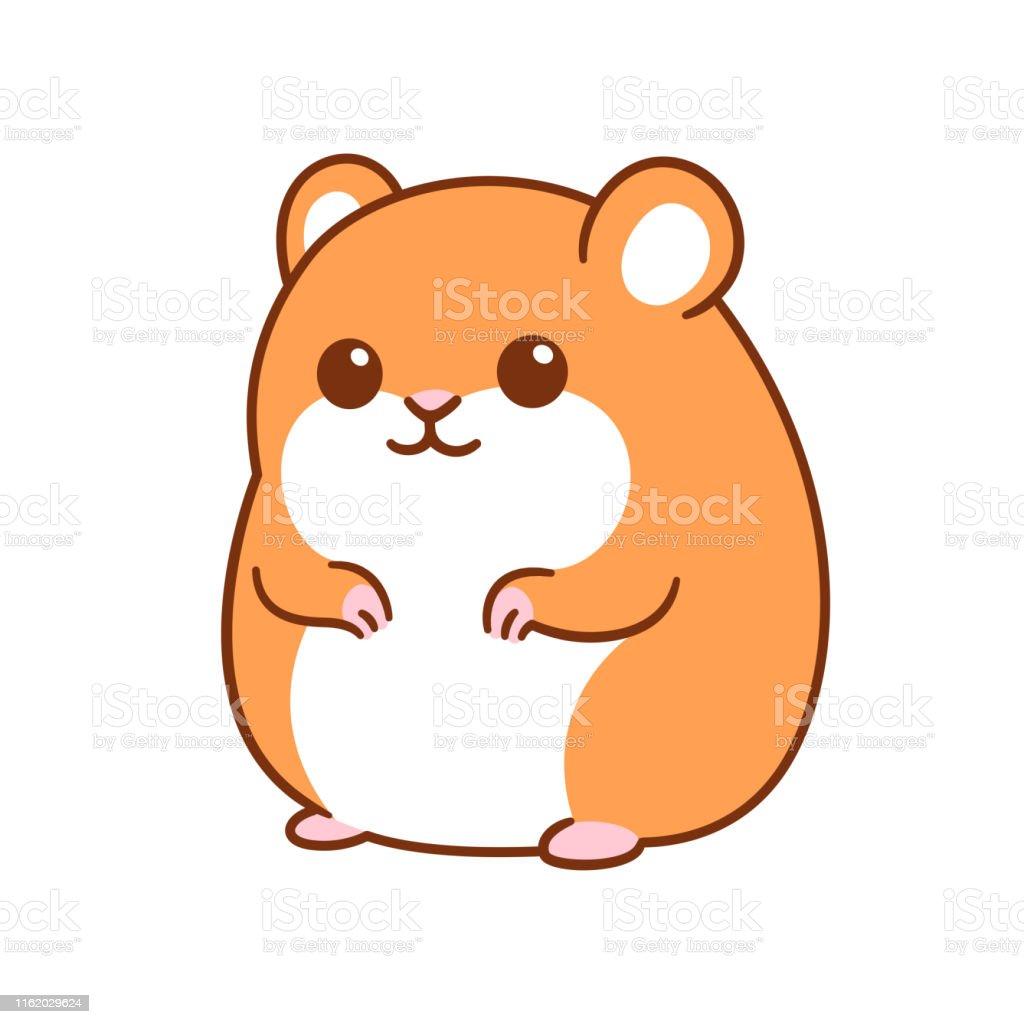 Hamster Mignon De Dessin Anime Vecteurs Libres De Droits Et Plus D Images Vectorielles De Animaux De Compagnie Istock
