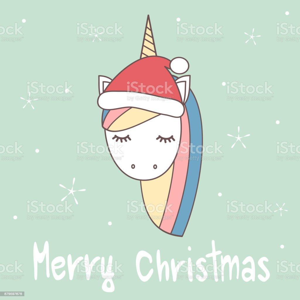 Main De Dessin Anime Mignon Dessinee Carte De Voeux De Joyeux Noel