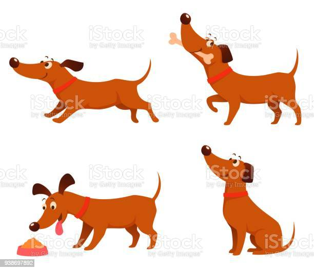 Cute cartoon illustrations of a happy playful dog vector id938697892?b=1&k=6&m=938697892&s=612x612&h=mceqvdcqcfihwc0l8olnvwbqhruliazi5hqnb0lpcuw=