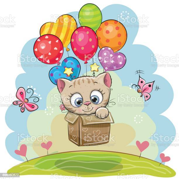 Cute cartoon kitten with balloons vector id696360872?b=1&k=6&m=696360872&s=612x612&h=va6wot1qo4af36qyad0yqnbhvoi0xxg5kbhmubwimci=