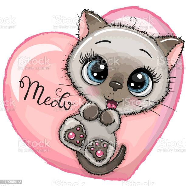 Cute cartoon kitten with big eyes vector id1140558143?b=1&k=6&m=1140558143&s=612x612&h=3dvwtd93cluhrh83nk78tc73e4hyz8zcr9vj 7vzuzs=
