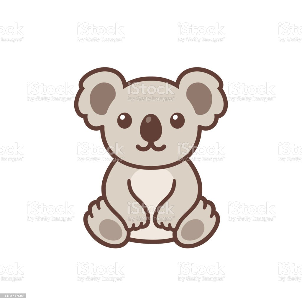 Koala Mignon Dessin Anime Vecteurs Libres De Droits Et Plus D Images Vectorielles De Animaux A L Etat Sauvage Istock