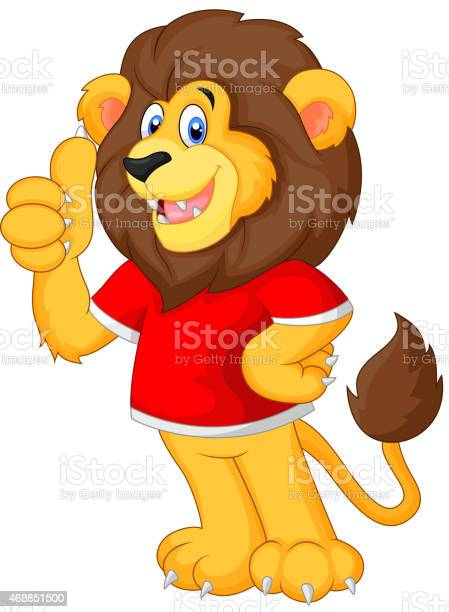 Cute cartoon lion giving thumb up vector id468851500?b=1&k=6&m=468851500&s=612x612&h=y qyw5ivz0qbjpc54hu5oofz4t2r5h2x9n83s0nxsia=