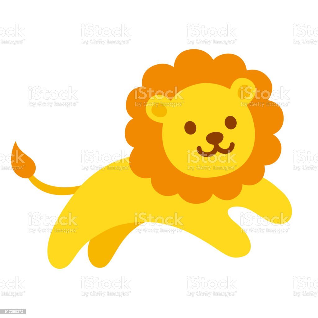 royalty free lion cub running clip art vector images rh istockphoto com free lion cub clipart cute lion cub clipart