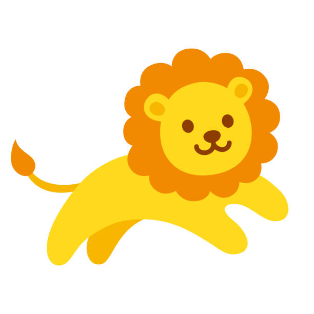 Royalty Free Baby Lion Clip Art, Vector Images ...