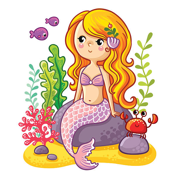 Royalty Free Mermaid Tail Clip Art, Vector Images ...