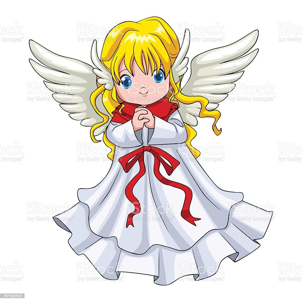 Cute Cartoon Of An Angel cute cartoon of an angel - immagini vettoriali stock e altre immagini di ala di animale royalty-free