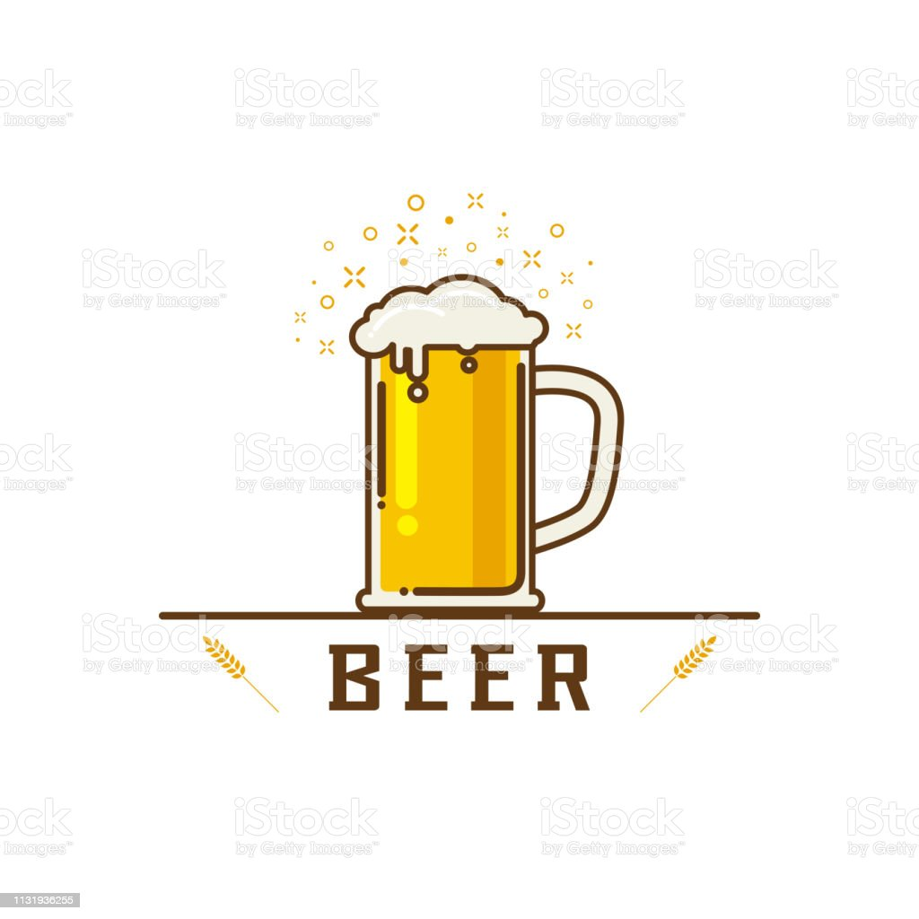 ビールベクターイラストのかわいい漫画 アルコール飲料のベクターアート素材や画像を多数ご用意 Istock